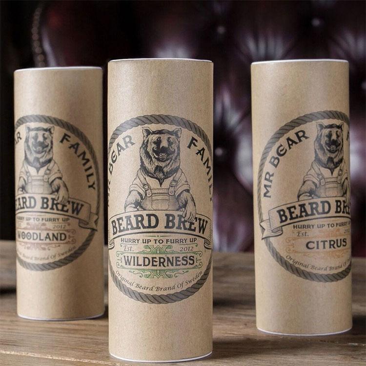 Mr Bear Family Skäggolja Wilderness. Naturliga skäggolja som återfuktar och gör ditt skägg mjukt.