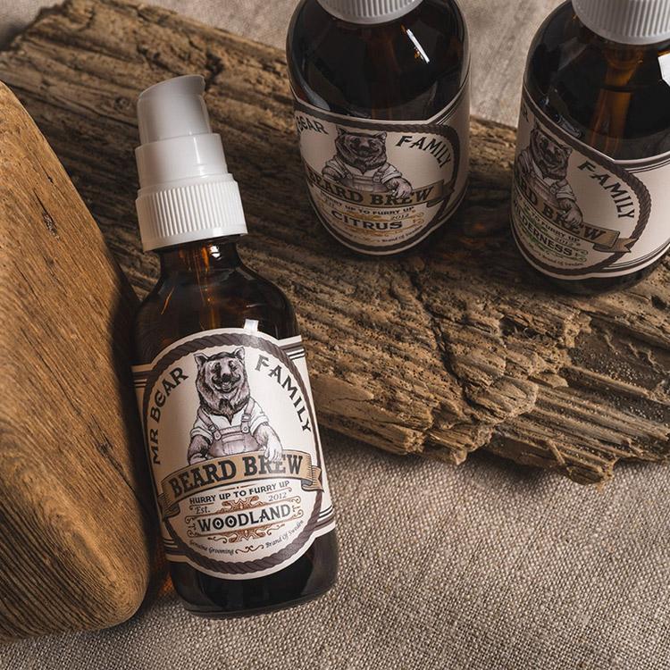 Mr Bear Family Beard Brew Woodland 60 ml