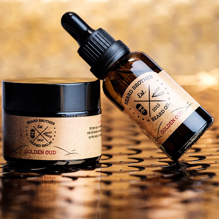Beard Brother Beard Kit Golden Oud