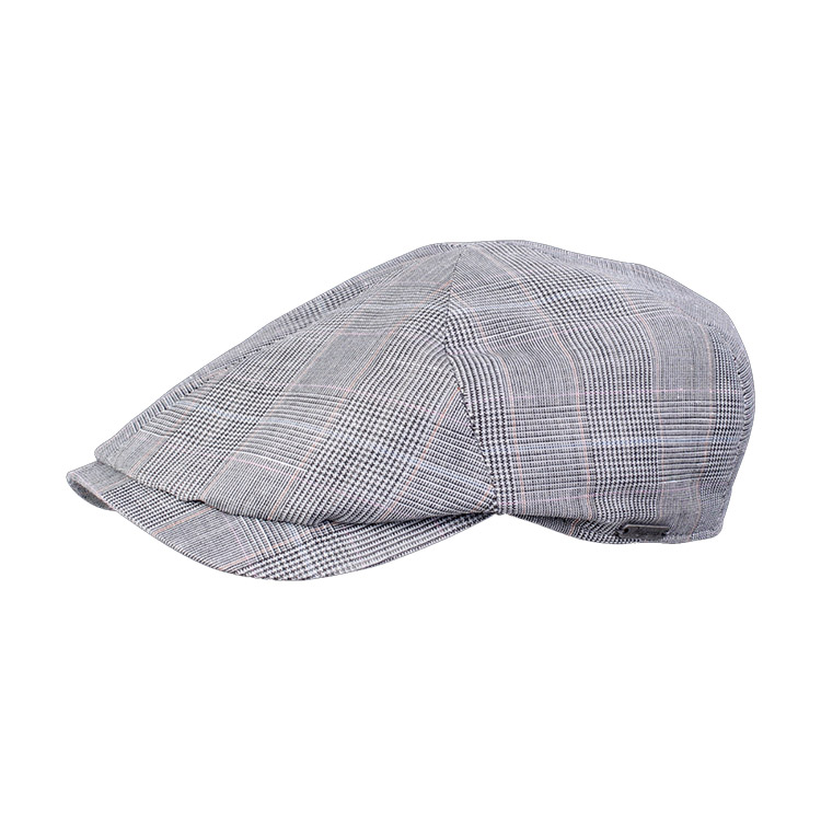 Wigens Newsboy Slim Cap Light Grey