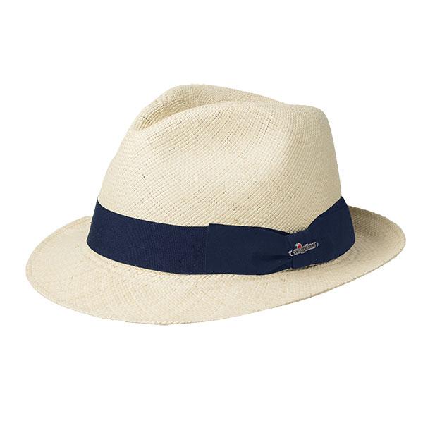Wigens Trilby Panama Hat Navy
