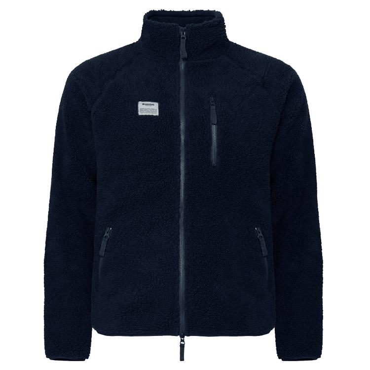 Resteröds Fleece Jacket Zip Navy REA