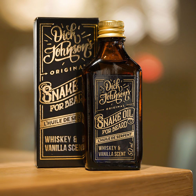 Dick Johnson Excuse My French Beard Oil Snake Oil Unscented
