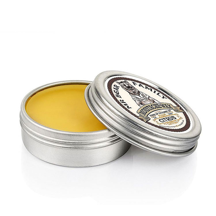 Mr Bear Family Moustache Wax Citrus