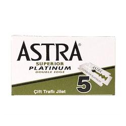 Astra Superior Platinum Dubbelrakblad 5-pack
