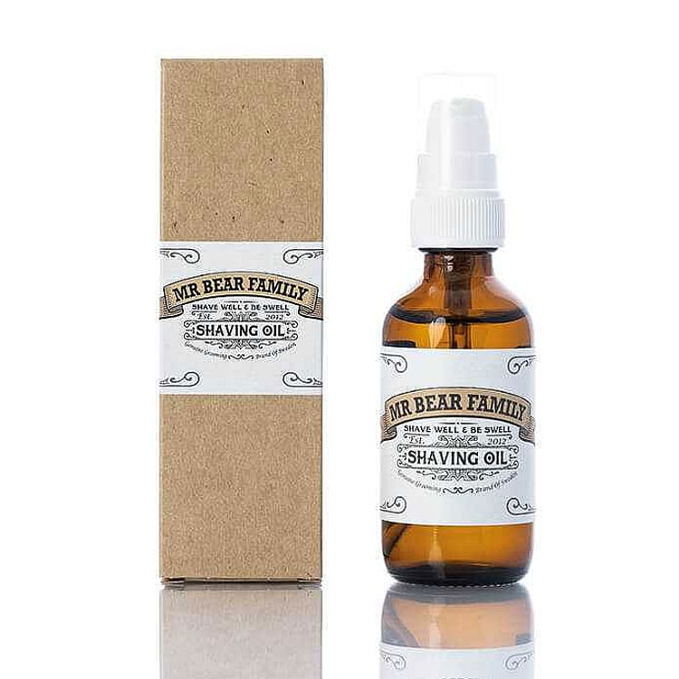 Mr Bear Family Shaving Oil 60 ml