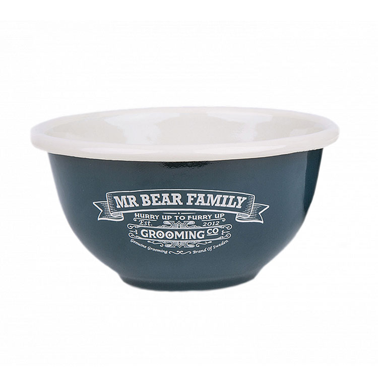Mr Bear Family Shaving Bowl Enamel