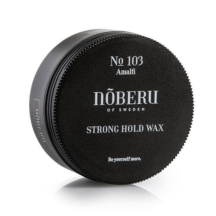 Nõberu of Sweden Strong Hold Wax, Vax med hård staga.