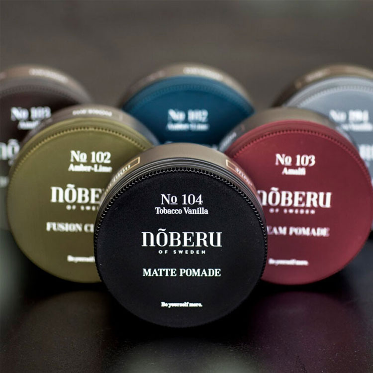 Nõberu of Sweden Classic Paste, en klassisk hårpaste skapad för att ge ditt hår en naturlig glans