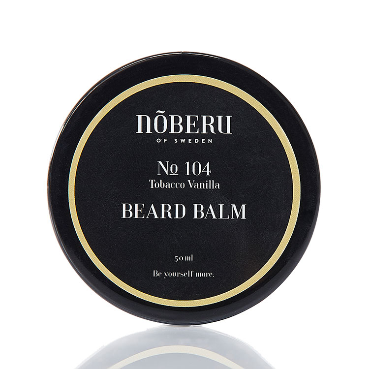 Nõberu of Sweden Beard Balm Tobacco Vanilla