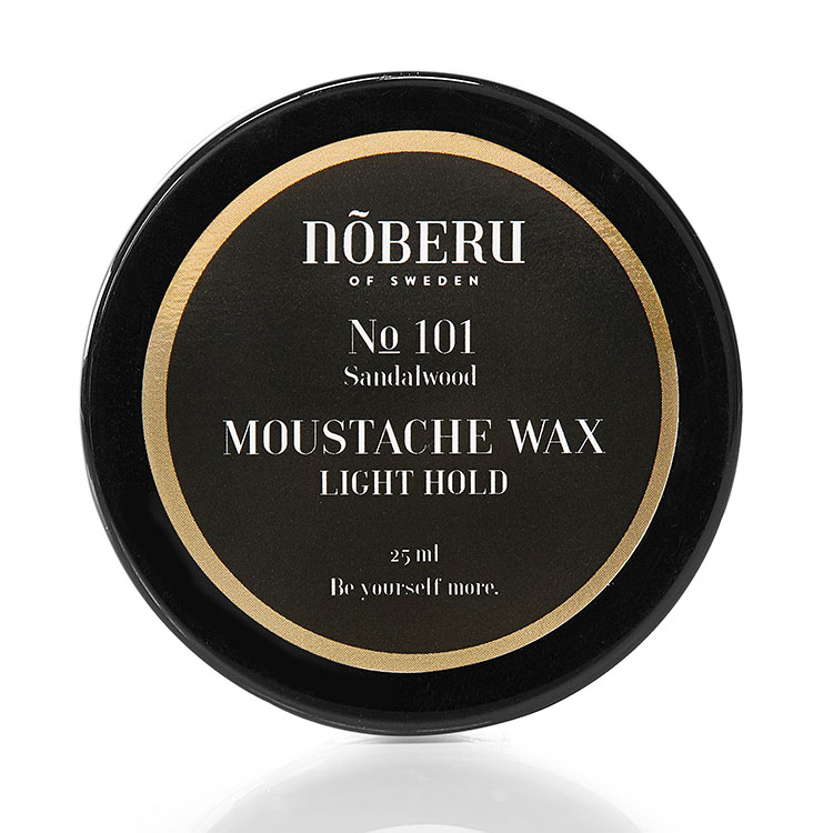 Nõberu of Sweden Moustache Wax Light Hold Sandalwood