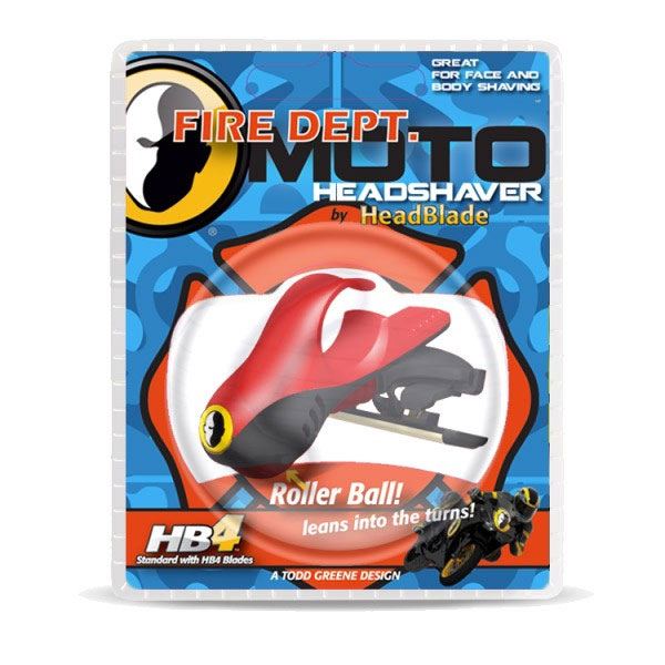 HeadBlade Razor Moto Fire Dept