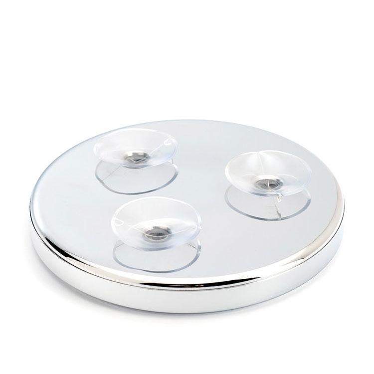 Mühle Rakspegel Med Sugproppar x5, en rakspegel med sugproppar som kan fästas på din vanliga badrumsspegel.