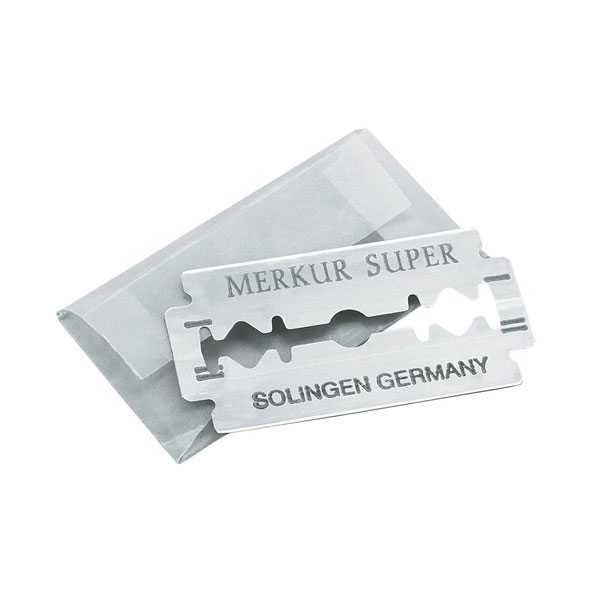 Merkur Super Platinum Dubbelrakblad 10-pack