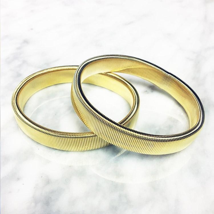Dako Ärmhållare Metall Guld