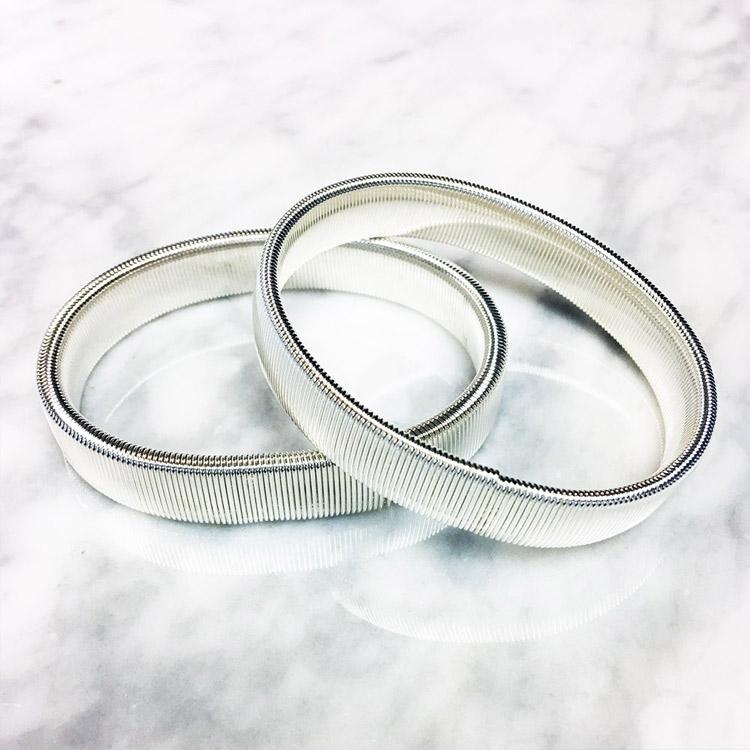 Dako Ärmhållare Metall Silver