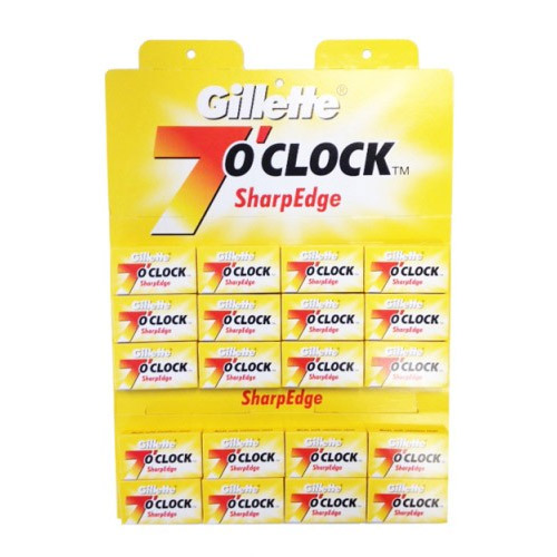 Gillette 7 O'Clock Sharp Edge Dubbelrakblad 100-pack