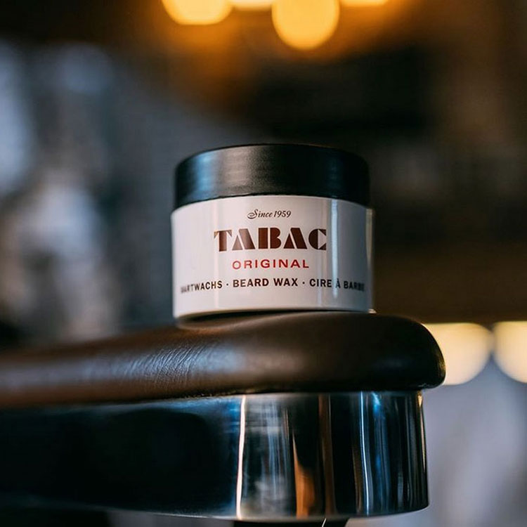 Tabac Original Beard Wax, skäggvax som mjukgör och formar skägget.