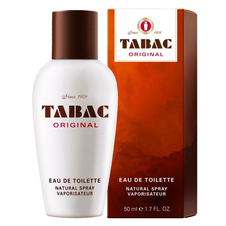 Tabac Original EdT 50 ml, klassisk herrparfym med spray i Tabac Original signaturdoft.