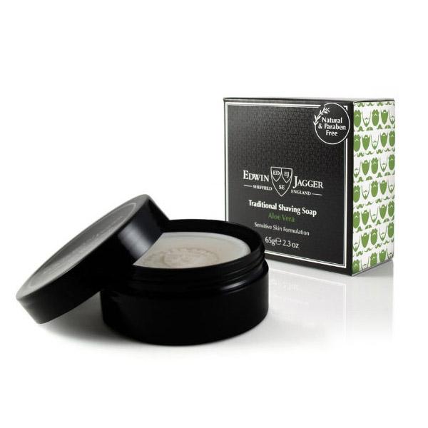 Edwin Jagger Aloe Vera Shaving Soap 65 g