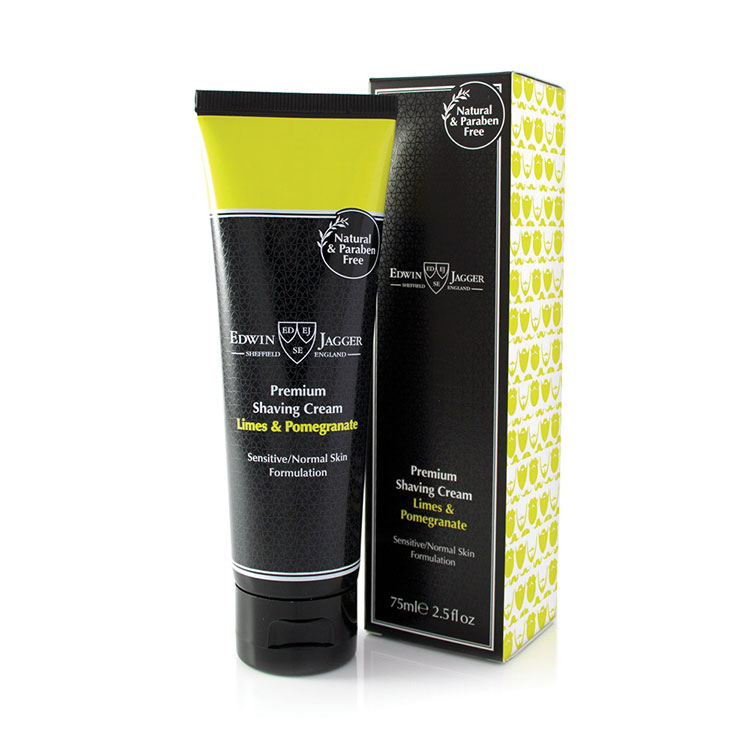 Edwin Jagger Limes & Pomegranate Shaving Cream 75 ml