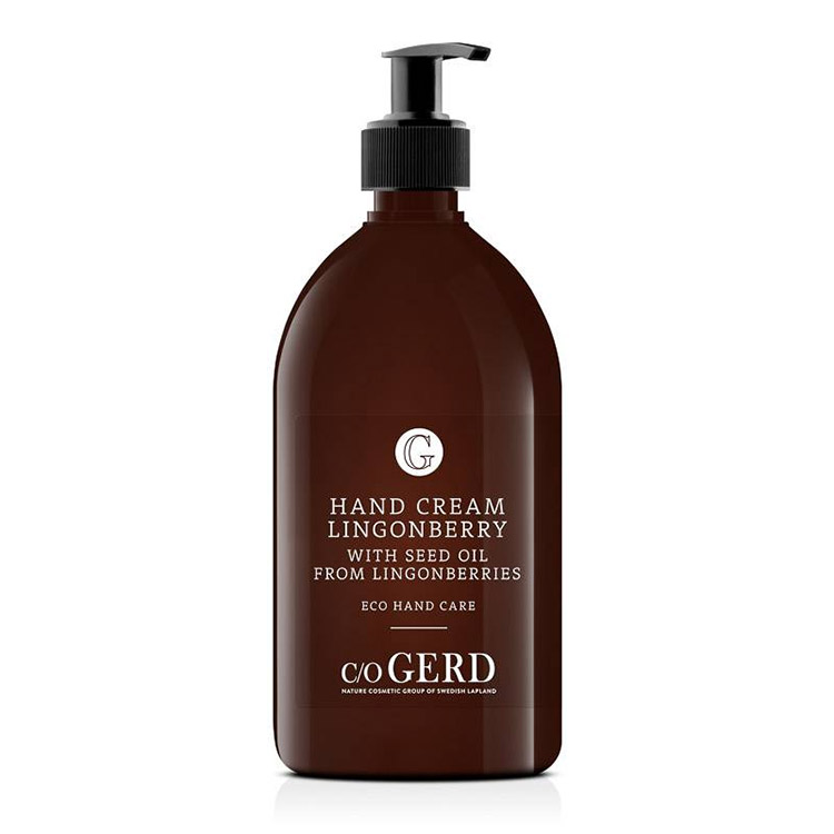 c/o Gerd Lingonberry Hand Cream 500 ml
