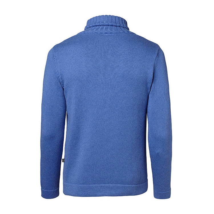 Jumperfabriken Haddock Anchor Rollneck Blå