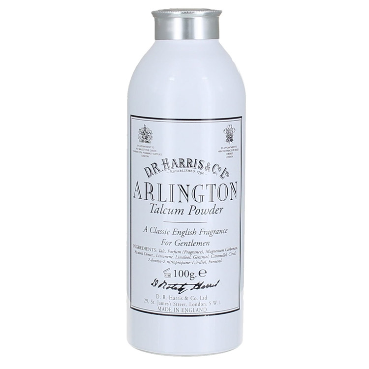 D.R. Harris Arlington Talcum Powder