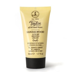 Taylor of Old Bond Street Sandalwood Shaving Cream Tube 50 ml