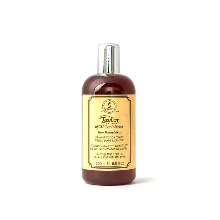 Taylor of Old Bond Street Sandalwood Hair and Body Shampoo 200 ml