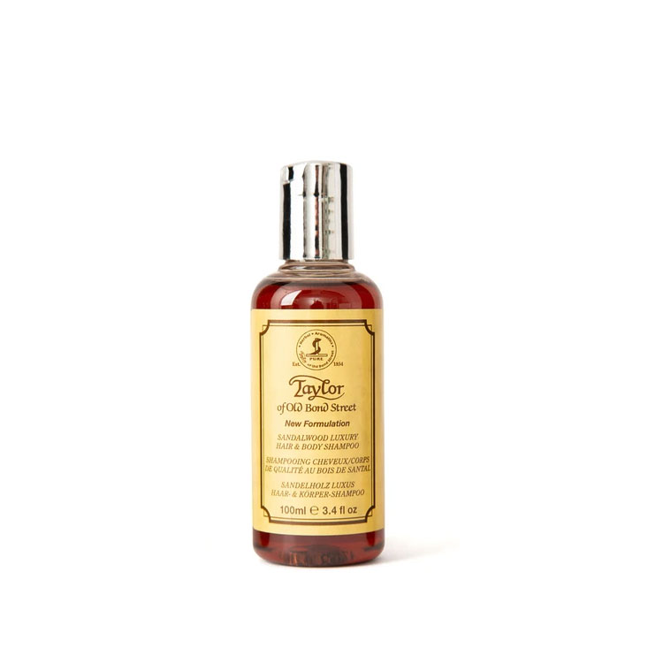 Taylor of Old Bond Street Sandalwood Hair and Body Shampoo 100 ml