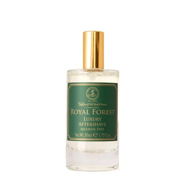 Taylor of Old Bond Street Royal Forest Aftershave Lotion, Lyxigt alkoholfritt rakvatten som avslutar din rakning på ett klassiskt och smakfullt sätt.