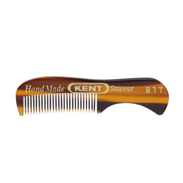 Kent Brushes Small Beard and Moustache Comb 81T