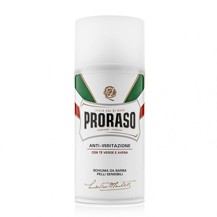 Proraso Shaving Foam Sensitive Green Tea