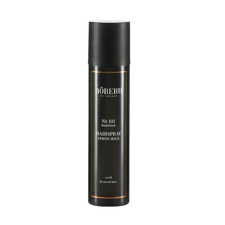 Nõberu of Sweden Hairspray Strong Hold Sandalwood 300 ml