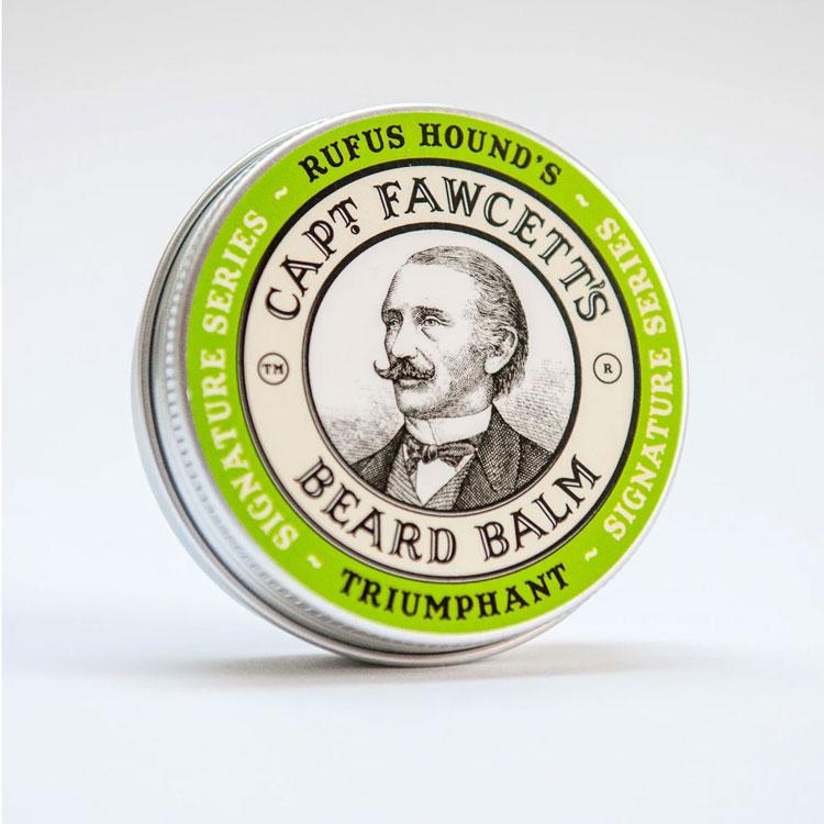 Captain Fawcett Rufus Hound's Triumphant Beard Balm, Vårdande skäggvax för styling.