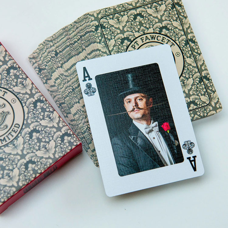 Captain Fawcett Playing Cards