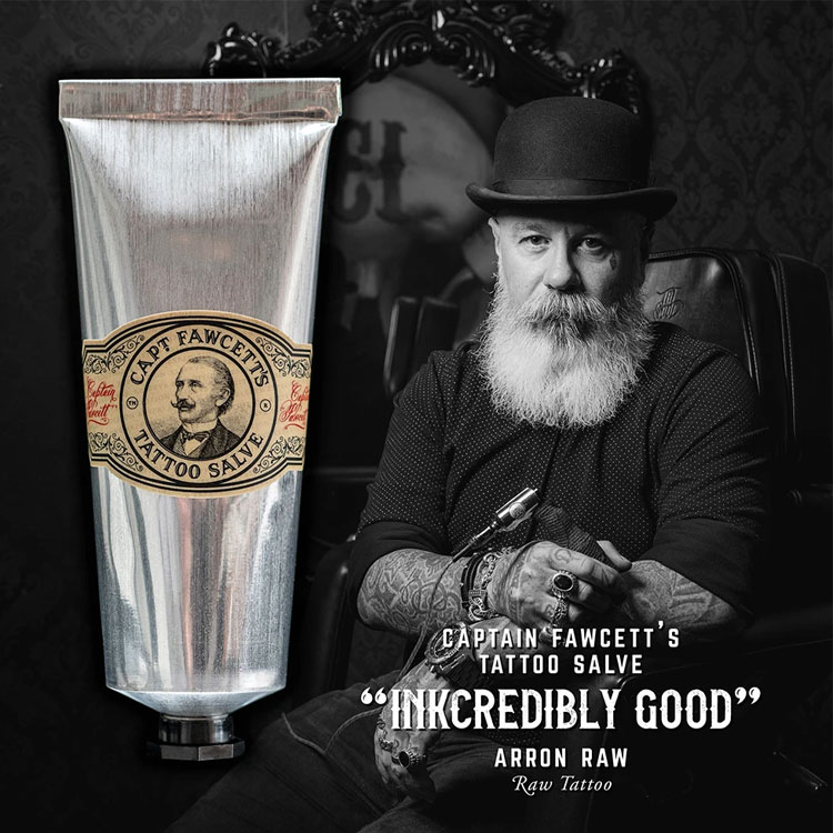 Captain Fawcett Tattoo After Care Salve
