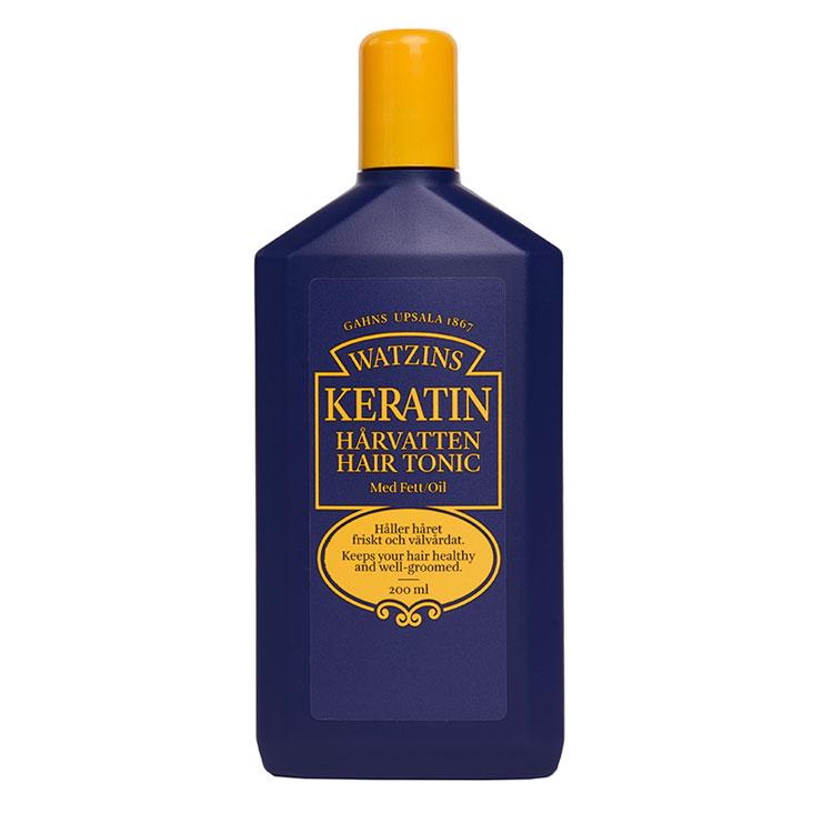 Keratin Hårvatten Med Fett