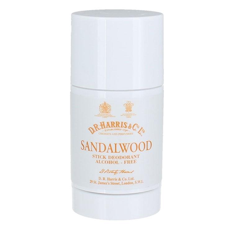 D.R. Harris Sandalwood Deodorant Stick, Alkoholfri deodorant med doft av sandelträ. Perfekt för känslig hud!