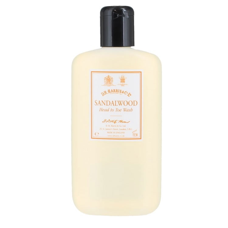 D.R. Harris Sandalwood Head to Toe Wash 250 ml
