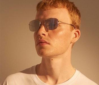 A.Kjærbede Solglasögon Toby Grey