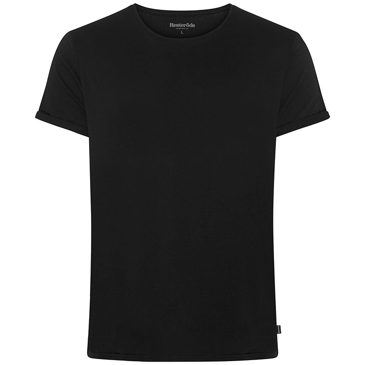 Resteröds Jimmy Tee Cotton Black