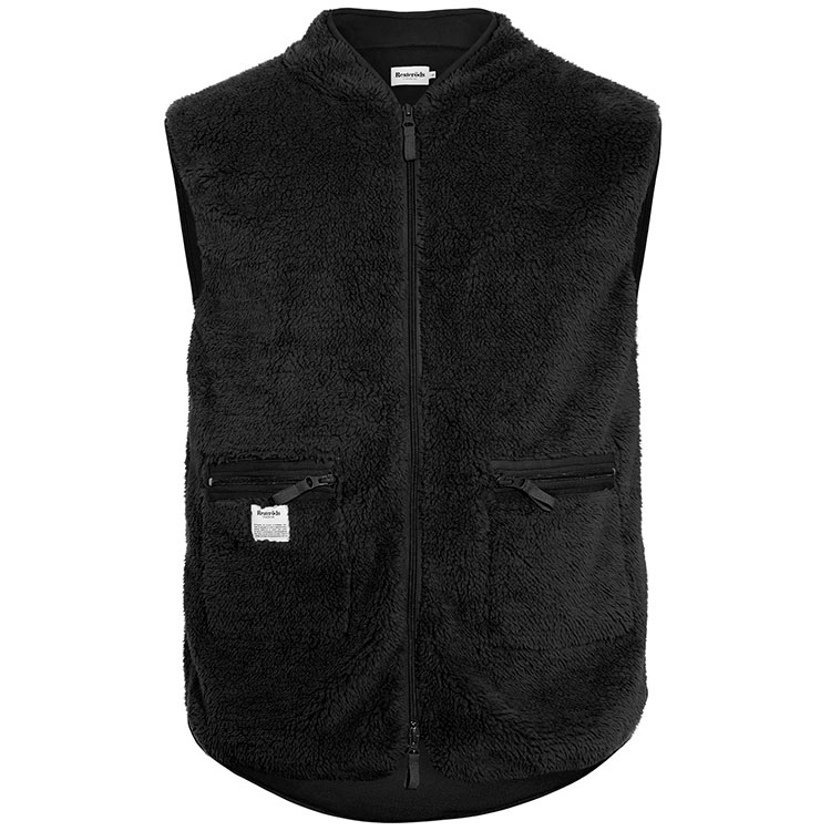 Resteröds Original Fleece Vest Black