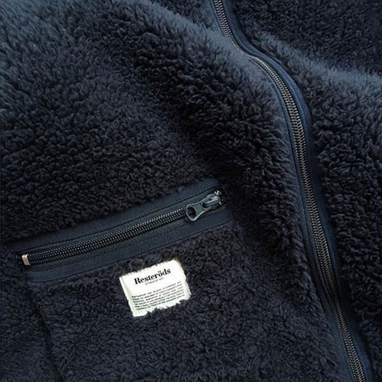 Resteröds Original Fleece Jacket Navy