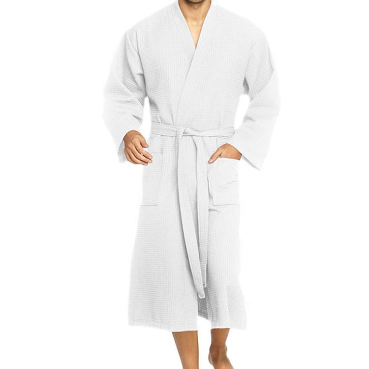 Vossen Wellington Bathrobe White