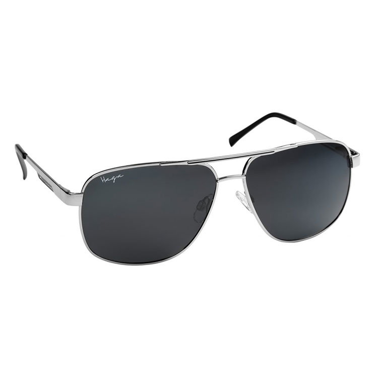 Haga Eyewear Polarized Denver Silver
