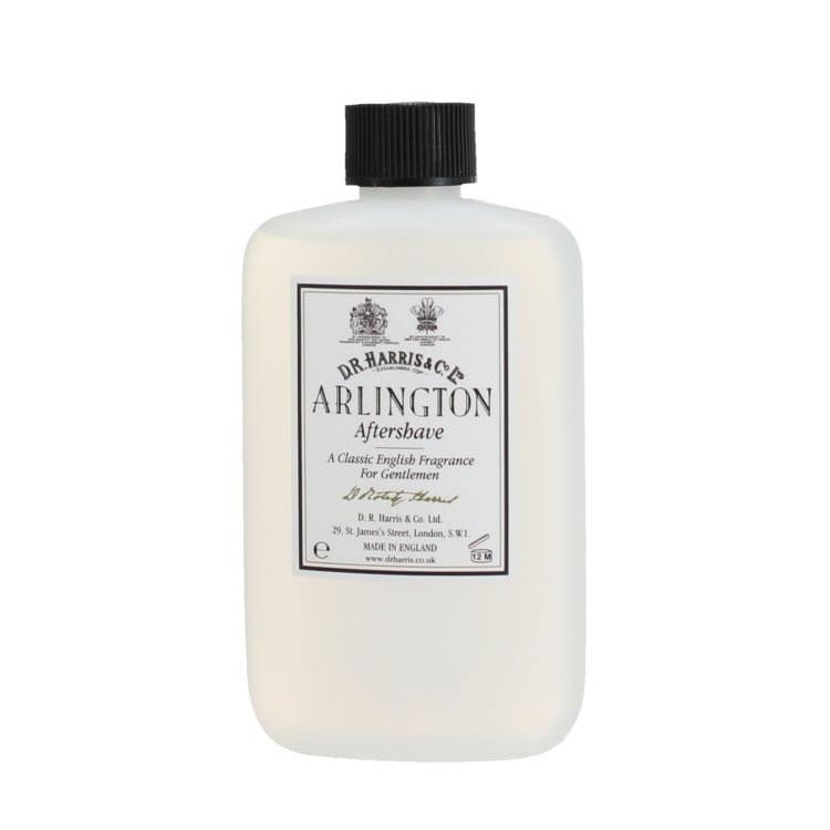 D.R. Harris Arlington Aftershave Plastic Bottle