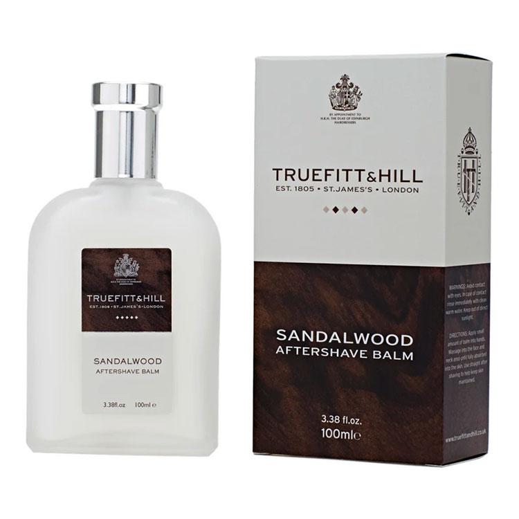 Truefitt & Hill Sandalwood Aftershave Balm, Lyxig rakbalm med doft av sandelträ.