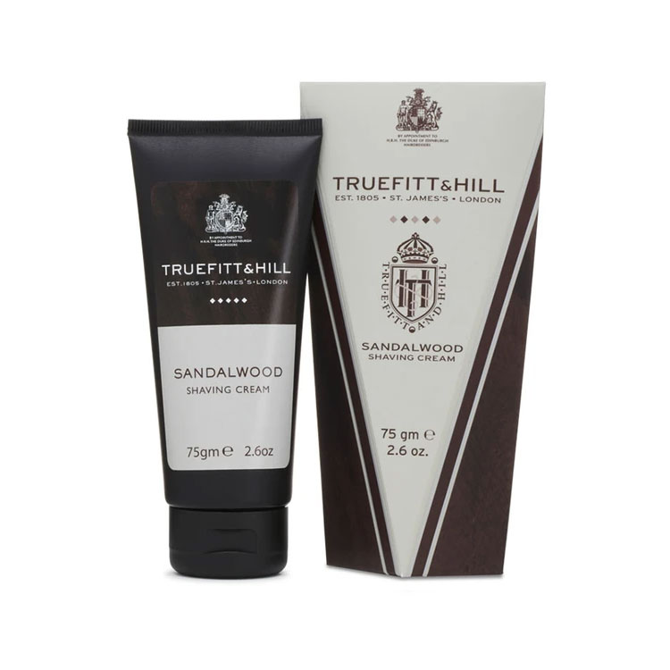 Truefitt & Hill Sandalwood Shaving Cream Tube